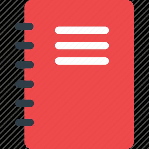 book, bookmark, diary, knowledge, reading icon icon