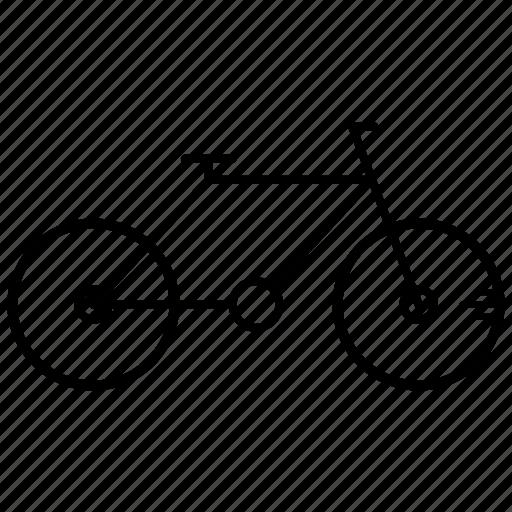 bicycle, bike, learning, study icon
