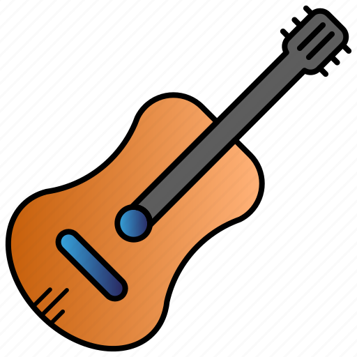 education, guitar, learning, school, student icon