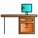 classroom, education, office, study, working icon