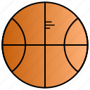 ball, education, learning, sport, study icon