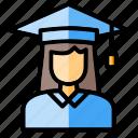 college, diploma, graduate, graduation, graduation cap, mortarboard, university
