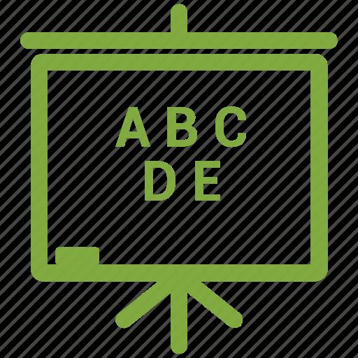 Black board, board, plank, school board icon - Download on Iconfinder