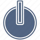 log, off, on, power, restart, sign, turn icon
