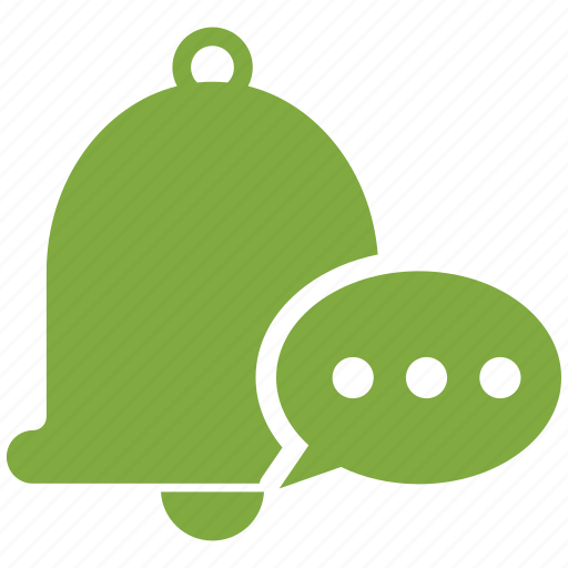 alarm, alert, bell, chat, message, notification, ring icon