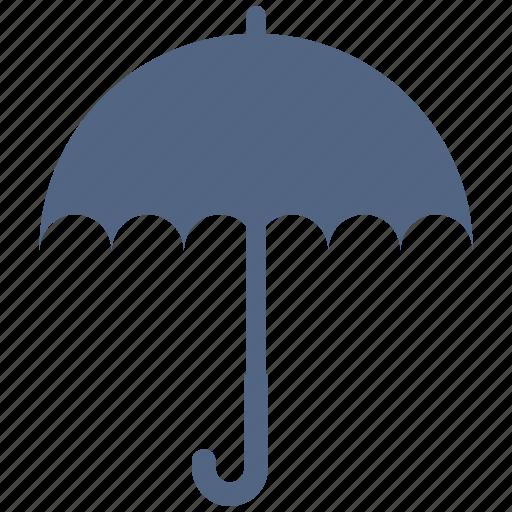 Protection, umbrella, insurance, shade icon