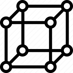 cube, geometry, hypercube, mathematics icon