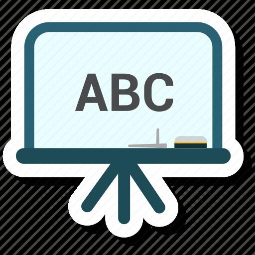 blackboard, business, financial, success icon