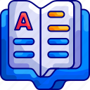 book, bukeicon, education, open icon