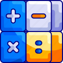 bukeicon, calculator, count, education, school icon