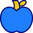 apple, knowledge, vectoryland icon