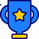 award, trophy, vectoryland icon