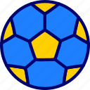 ball, football, soccer, vectoryland icon