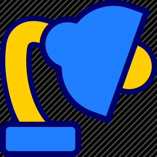 education, lamp, school, vectoryland icon