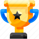 bukeicon, championship, competition, education, gold, trophy, victory icon