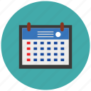 calendar, date, event, meeting, time, year icon