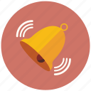 bell, notification, notify, ring, warning icon