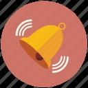 bell, notification, notify, ring, warning icon