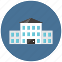 building, place, school, study icon