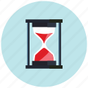 clock, glass, hour, hourglass, sand, timer icon