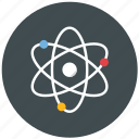atom, molecule, motion, newton, physics, study icon
