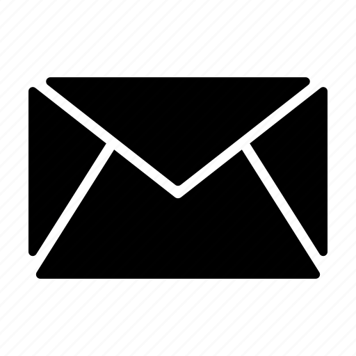 contact, inbox, mail, message, stationary icon