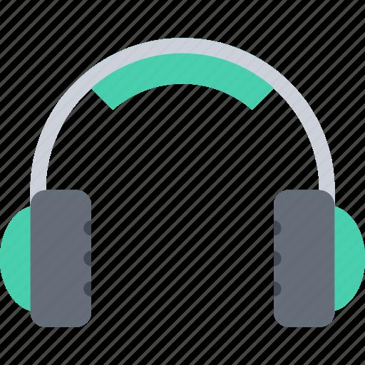 appliances, electronics, gadget, headphones, technology icon