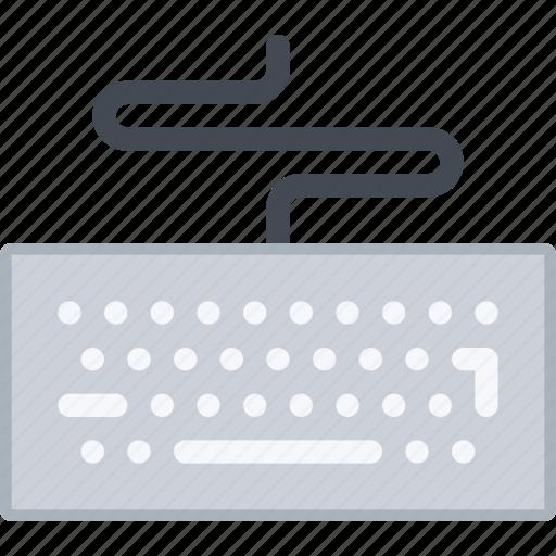 appliances, electronics, gadget, keyboard, technology icon