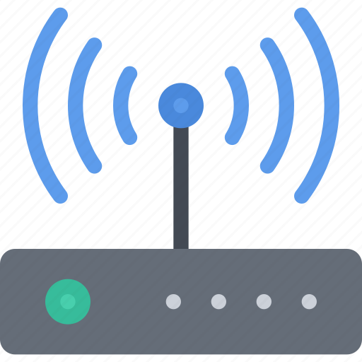 appliances, electronics, gadget, router, technology icon