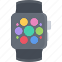 appliances, electronics, gadget, smart, technology, watch icon