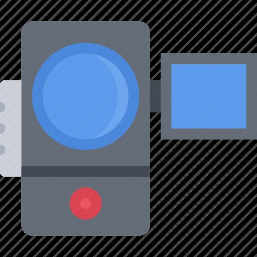 appliances, camera, electronics, gadget, technology, video icon