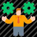 businessman, human, management, presentation, resources, strategy