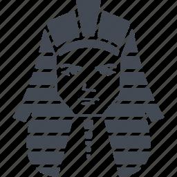 egipt, pharaoh, pharaoh of egypt, tutankhamun icon