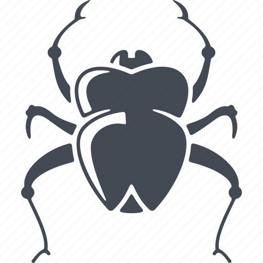 beetle, egipt, insect, pest, scarab icon