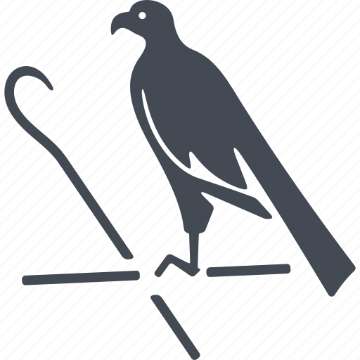 animal, bird, egipt, symbolism icon