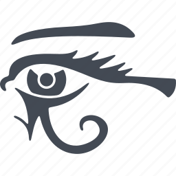 all-seeing eye, egipt, eye, symbolism, vision icon