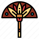 cultures, egypt, egyptian, fan icon