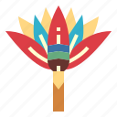 blossom, flower, garden, lotus icon