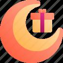 al, eid, fitr, gift, muslim, package, ramadan icon