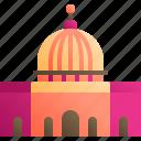 al, aqsa, building, landmark, mosque, muslim icon