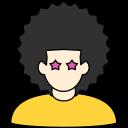 avatar, disco, eighties, hair, style icon