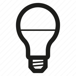 electric, lamp, led icon