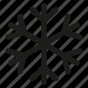 cold, snowflake, winter
