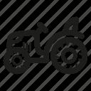 mini, tractor icon