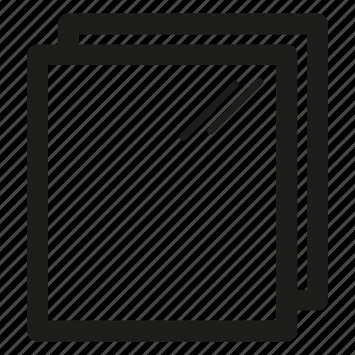 metal, rolled, sheet, steel icon