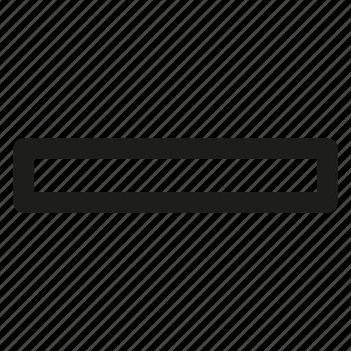 bar, metal, steel, strip icon