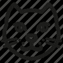 cat, petshop icon