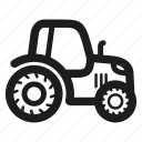 agriculture, farming, tractor