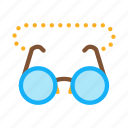 eye, glasses, sight, vision icon