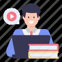 video education, blended learning, video books, education, online educationv